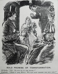 Bold Promise of Transformation! - Punch 1873 (AndyBrii) Tags: woodcuts humour punch wit cartoons 1873