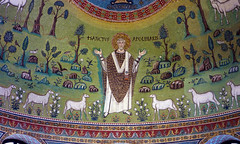 Sant'Apollinare, apse mosaic, Sant'Apollinare in Classe