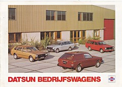 Datsun Cherry Wagon and Sunny Wagon brochure 1978 (sjoerd.wijsman) Tags: auto cars car cherry sunny voiture vehicle 1978 brochure datsun fahrzeug folleto prospekt carbrochure datsuncherry opuscolo datsunsunny brochura broschyr autobrochure