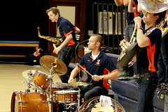 Drummer (RPahre) Tags: drummer band universityofillinois illinois champaign huff huffhall robertpahrephotography copyrighted donotusewithoutwrittenpermission