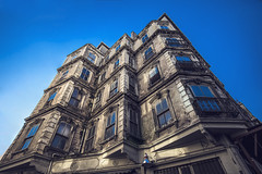 look at the tabela (black jem) Tags: old travel sky building architecture turkey bluesky istanbul architect oldtimes galata pera oldhous