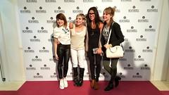 Angy en la inauguración de la Clínica Revitacell en Madrid