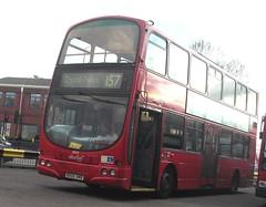 Abellio London 9029 on route 157 Morden station 03/02/16. (Ledlon89) Tags: bus london buses transport londonbus tfl londonbuses centrallondon