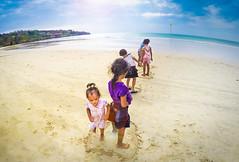 Little Friends in Bali (silvia frigoli) Tags: travel friends sea bali beach sunshine children live joy happiness moment bestfriend jimbaran silviafrigoli