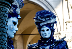 Venice (San Marco) (filippogatteschi) Tags: street city carnival venice winter light people colors look silhouette contrast canon landscape eos dawn photo soft mask february carnevale closer 2016 70d