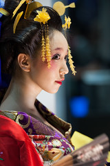 Oiran (byzanceblue) Tags: cute sexy girl beautiful beauty japan eyes geisha kimono ambition tgs  katsura hanamachi  kanzashi oiran      asiandreamaward