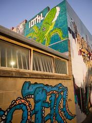 little rundle street art party - 2120138 (liam.jon_d) Tags: streetart pasteup art graffiti graf australian australia fringe event squid octopus opening publicart sa tentacle southaustralia stickup openingnight rundlestreet rundlest adelaidefringe southaustralian billdoyle somethingwild kenttown fringeevent adelaidefestivalfringe adlfringe stickerup iotkl littlerundlestreetartproject littlerundlest littlerundlestreet