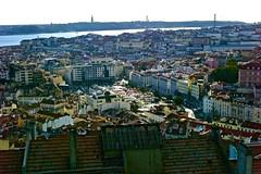 "Lisbon seen from ""Senhora do Monte"" (pedrosimoes7) Tags: portugal landscape cityscape lisbon cc creativecommons graa senhoradomonte"