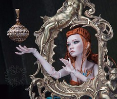 Jewelry & Doll (jullery) Tags: beauty fashion design doll bjd porcelain beadwork fashionjewellery singlecopy porcelainbjd lutsenko