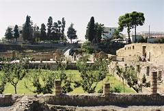 163 Zicht vanuit mannenbadhuis, sportveld (rspeur) Tags: italy itali ercolano herculaneum