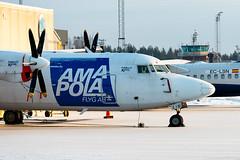 SE-LIS Fokker F50 Freighter Amapola Flyg (Andreas Eriksson - VstPic) Tags: flyg freighter f50 fokker amapola selis