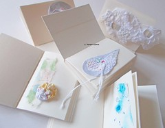 five pages (contemporary embroidery) Tags: collage scrapbooking design pages embroidery sketchbook surfacedesign samples ledger artistbooks textilesurfacedesign