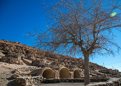 troglodyte village rock mosque, Kerman province, Meymand, Iran (Eric Lafforgue) Tags: old house heritage archaeology horizontal stone architecture underground outdoors ancient asia village iran traditional persia nobody architectural historic unescoworldheritagesite historical cave residential ancientcivilization archaeological troglodyte arid thepast cultural traditionalculture cavedwelling archaeologicalsite traveldestinations   touristdestination cavedweller  iro  builtstructure maymand meymand colourpicture kermanprovince  irandsc07973