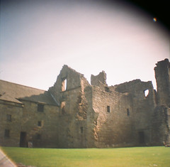 (thismaudlincareer) Tags: summer castle scotland countryside lomo lomography fife lofi ruin aberdour aberdourcastle kodakultramax400 dianamini
