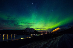 Northern Lights (Valter Patrial) Tags: norway circle lights do arctic noruega luzes polar northern circulo norte paisagens nightscapes noturnas ártico auroras inexplore boreais