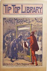 Devil costume dime novel cover (steammanofthewest) Tags: yale hazing 1897 devilcostume gilbertpatten dimenovel boyhero frankmerriwell