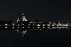 Venice x 2 (Costantino Mauro) Tags: venice reflection mirror acqua venezia notte specchio riflesso