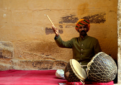 Folk Singer at Mehrangarh Fort