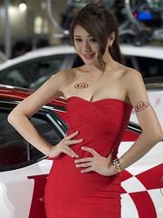 PC260909 (totogo1015) Tags: girl model taiwan kia sg 2016 世貿 車展