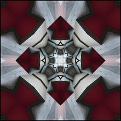 Geometric XXVI (Ursa Davis) Tags: seattle usa abstract building geometric lines wall architecture photoshop concrete photography photo washington hill shapes angles capitol conceptual davis shape angular ursa
