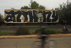 Anthony (All Seeing) Tags: bicycle graffiti king king157 wholecar rbox tlt rtm railbox benching