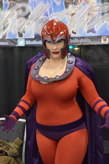 Magneto (earthdog) Tags: 2016 sanjose siliconvalleycomiccon costume cosplay marvelcomics xmen xmenvillain supervillain villain magneto crossplay genderswap 18200mmf3563 nikond5100 nikon d5100 bellechere helmet sanjoseconventioncenter comicbookconvention