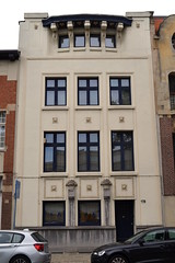Architectenwoning Flor Van Reeth, Deurne (Erf-goed.be) Tags: geotagged antwerpen deurne archeonet architectenwoning florvanreeth geo:lat=511977 boekenberglei geo:lon=44593