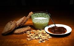 Colazione integrale (Ottoclick) Tags: life bread milk still wholemeal pane jam latte cereals colazione integrale marmellata cereali breckfast samsungnx300