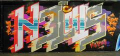 Nelius (cocabeenslinky) Tags: street city uk england urban orange streetart london art me lines tangerine writing suck lumix graffiti paint artist photos south united capital letters kingdom tunnel can off spray east panasonic waterloo writers graff leake se1 artiste nelius dmcg6 cocabeenslinky