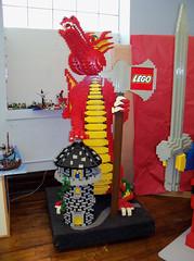 OH Bellaire - Toy & Plastic Brick Museum 59 (scottamus) Tags: ohio sculpture statue lego display roadside bellaire attraction belmontcounty toyplasticbrickmuseum