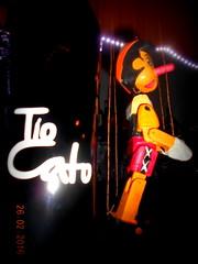 To Cato con Pinocho en el BAR CHAPLIN de la Plaza de las Palomas GUADIX (Barba azul) Tags: vino tinto pinocho comarcadeguadix caminomozarabedesantiago