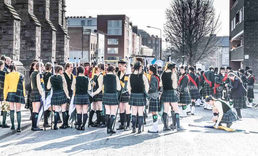 SHORECREST HIGH SCHOOL [ST. PATRICK'S PARADE IN DUBLIN 2016]-112224