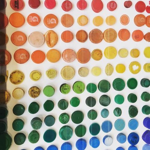 Bottle caps! Mark Dion #riadarttour #riadarttours