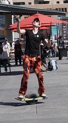 DSC03946 (Moodycamera Photography) Tags: street toronto ontario set movie square downtown sony busker yonge juggler dundas strain a6000