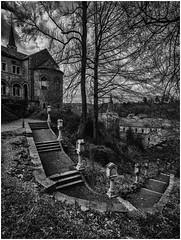 Old calvary (Eric@focus) Tags: blackwhite hermitage calvary namur wallonie celles blackwhitephotos monochromia nikonflickraward nikond7100
