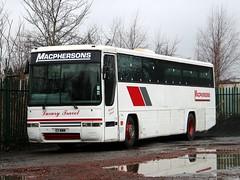 MacPherson, Airdrie E11MMM (busmanscotland) Tags: volvo mmm bluebird premiere interurban stagecoach macpherson jsa airdrie e11 586 plaxton b10m l586 l586jsa e11mmm