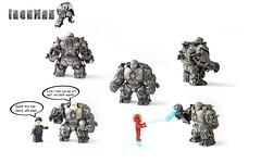 Iron Man - Iron Monger Suit (Tuminio) Tags: man iron lego suit armor customized custom monger