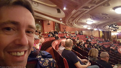 Stuart ready for his Glenn Close-up at The Coliseum. (martinbrampton) Tags: england london unitedkingdom eno gb coliseum sunsetboulevard april2016 stuartstokell