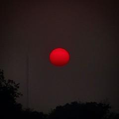 #ตะวันแดง #ยามเย็น #sunset #redsunset