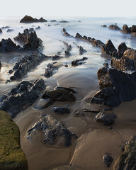 Barrika. (Joaqun CV) Tags: sea landscape mar playa paisaje euskadi barrika longexpo