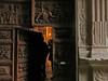 entrando in chiesa (ludi_ste) Tags: door wood light porta luce abruzzo legno intaglio portale calascio venerdìsanto bellabruzzo
