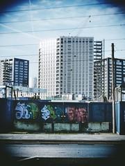 Graffiti, Peto Street (firstnameunknown) Tags: urban streetart building london art architecture modern graffiti mural cityscape docklands camerabag eastlondon camerabag2