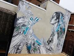 Swoon / Molenbeek  - 22 apr 2016 (Ferdinand 'Ferre' Feys) Tags: brussels streetart graffiti belgium belgique swoon belgi bruxelles urbanart graff brussel graffitiart bxl artdelarue urbanarte
