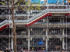 Paris pt.3 (FButzi) Tags: paris france centre piano olympus richard rogers pompidou georges renzo omd beaubourg gianfranco parigi em10 franchini