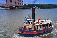 Ferry Boat Juliette Gordon Low, Savannah, Georgia (4 of 5) (gg1electrice60) Tags: ferry skyline port georgia harbor boat dock ship harbour shoreline smokestack northshore conventioncenter ferries ferryterminal southshore westinhotel saltwater ferryboat savannahriver chathamcounty shipchannel countyseat juliettegordonlow passengerboat pinkhotel exhauststack downtownsavannah savannahharbor portofsavannah savannahbellesferry savahannah tradecenterlanding savannariverferry savannahriverferry