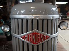 Vintage Farm Technology (spline_splinson) Tags: tractor de deutschland rust traktor transportation antiquetractor oldtechnology oldtractor badenwrttemberg vintagefarmequipment kleinland uhldingenmhlhofen