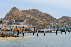 Back to the Ship (Neal D) Tags: mountain water mexico hill baja cabosanlucas