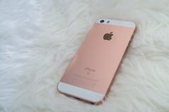 iPhone SE (HLB) Tags: pink france macro apple rose gold fuji bretagne fujifilm fujinon hdr rennes iphone bracketing rosegold fujifilmx100 fujix100 iphonese