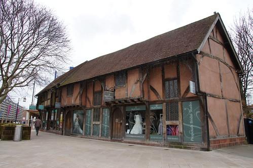 Half Timbered House