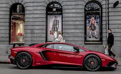 Eyecatcher (Ludo_Jacobs) Tags: auto street car lamborghini hdr vuitton antwerpen sportscar louisvuitton sportwagen